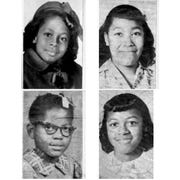 Denise McNair, 11; Carole Robertson, 14; Addie Mae Collins, 14;  and Cynthia Wesley, 14; from left, are shown in these 1963 photos.   (