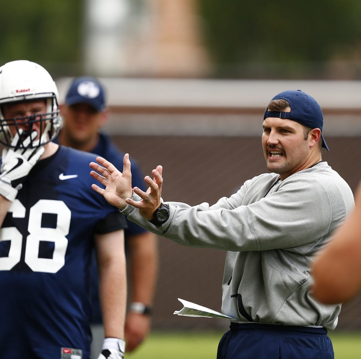 Ryan Pugh hired as Troy's offensive coordinator, line coach