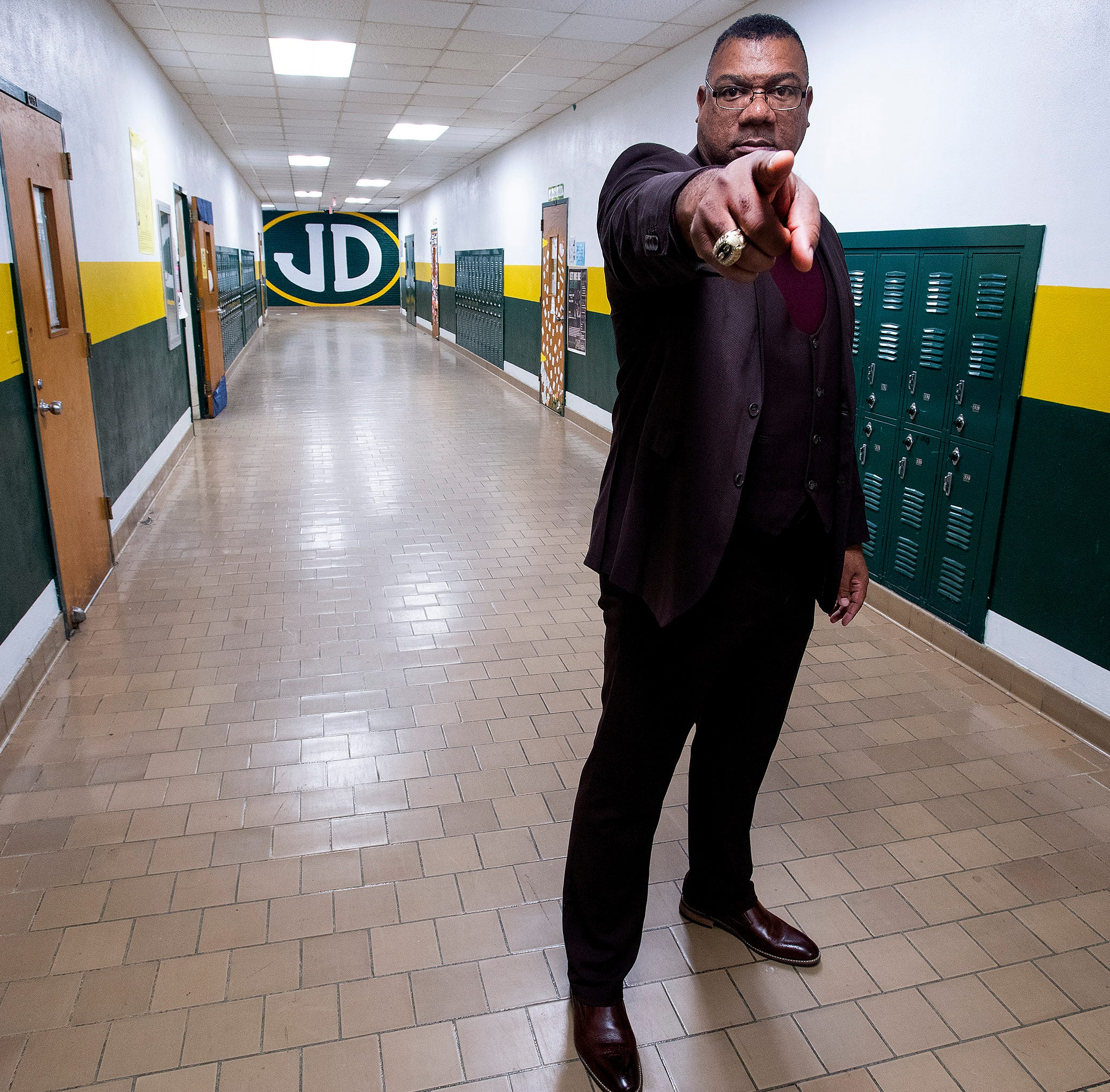 How the NFL prepared Bobby Abrams for his role as Jeff Davis High School principal