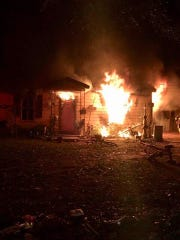 Montgomery Fire Rescue responded to a pre-dawn house fire in the first block of Pickett Street.