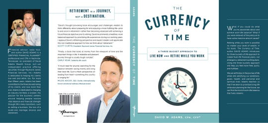 "Cover of ""The Currency of Time"" by Nashville financial planner David W. Adams"