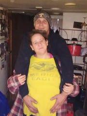 Jacob Nopens and his wife, Danika Nopens