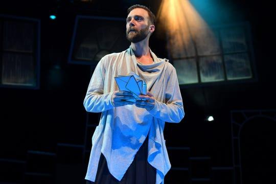 """Christopher Joel Onken  as Brutus in Nashville Shakespeare Festival's winter production of """"Julius Caesar."""""""