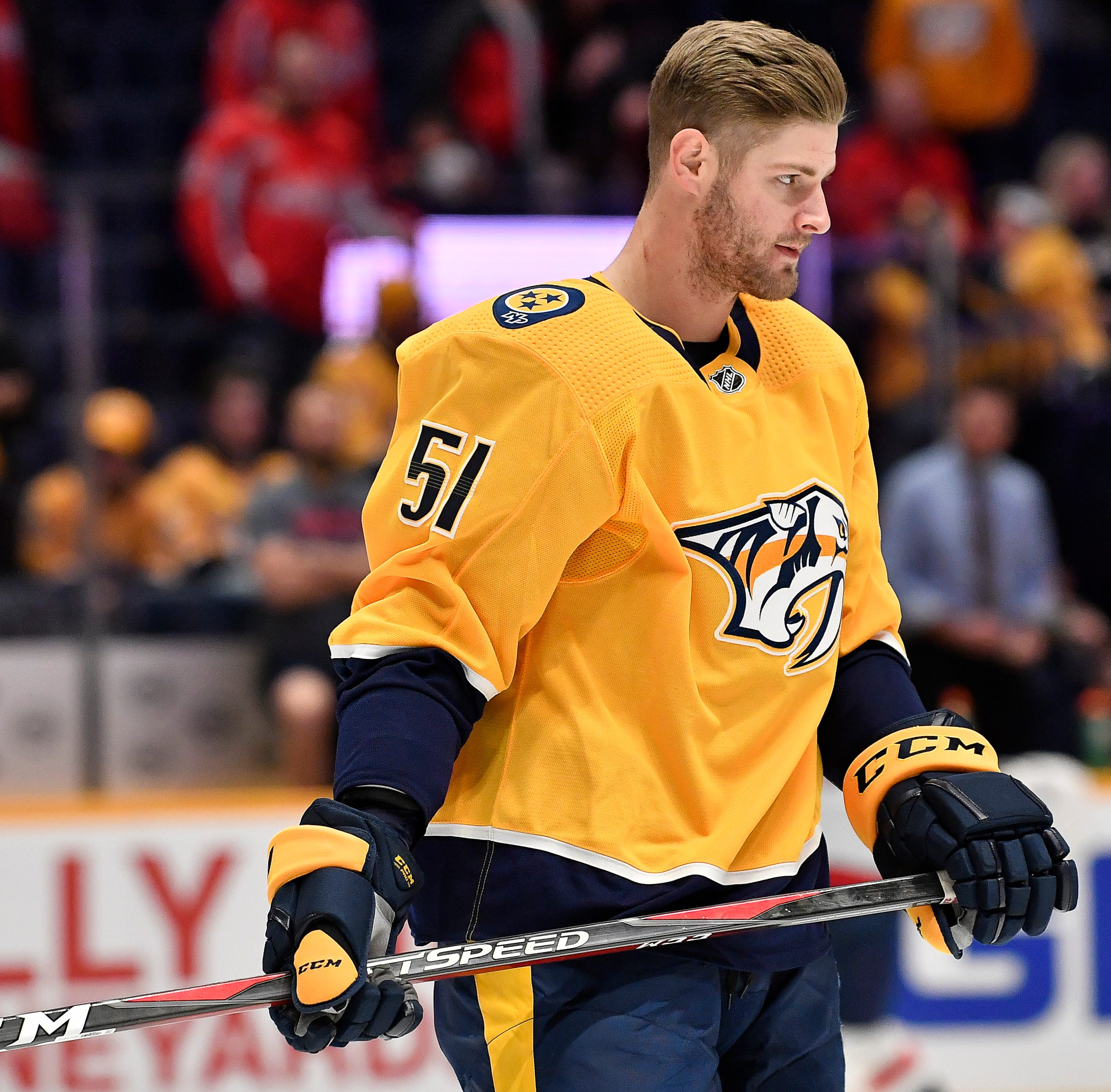 6 things to consider about Predators' Austin Watson's reinstatement from indefinite suspension