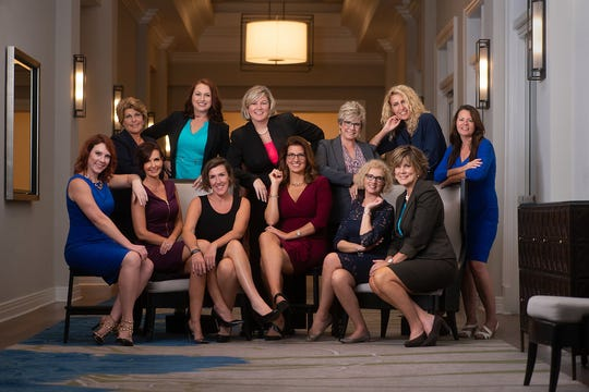 Female financial advisors at Edward Jones in Southwest Florida.