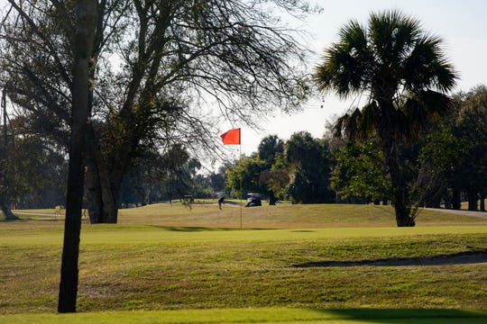 Golden Gate Country Club is pictured,  Wednesday, Jan. 16, 2019, near the intersection of Collier Boulevard and Golden Gate Parkway.