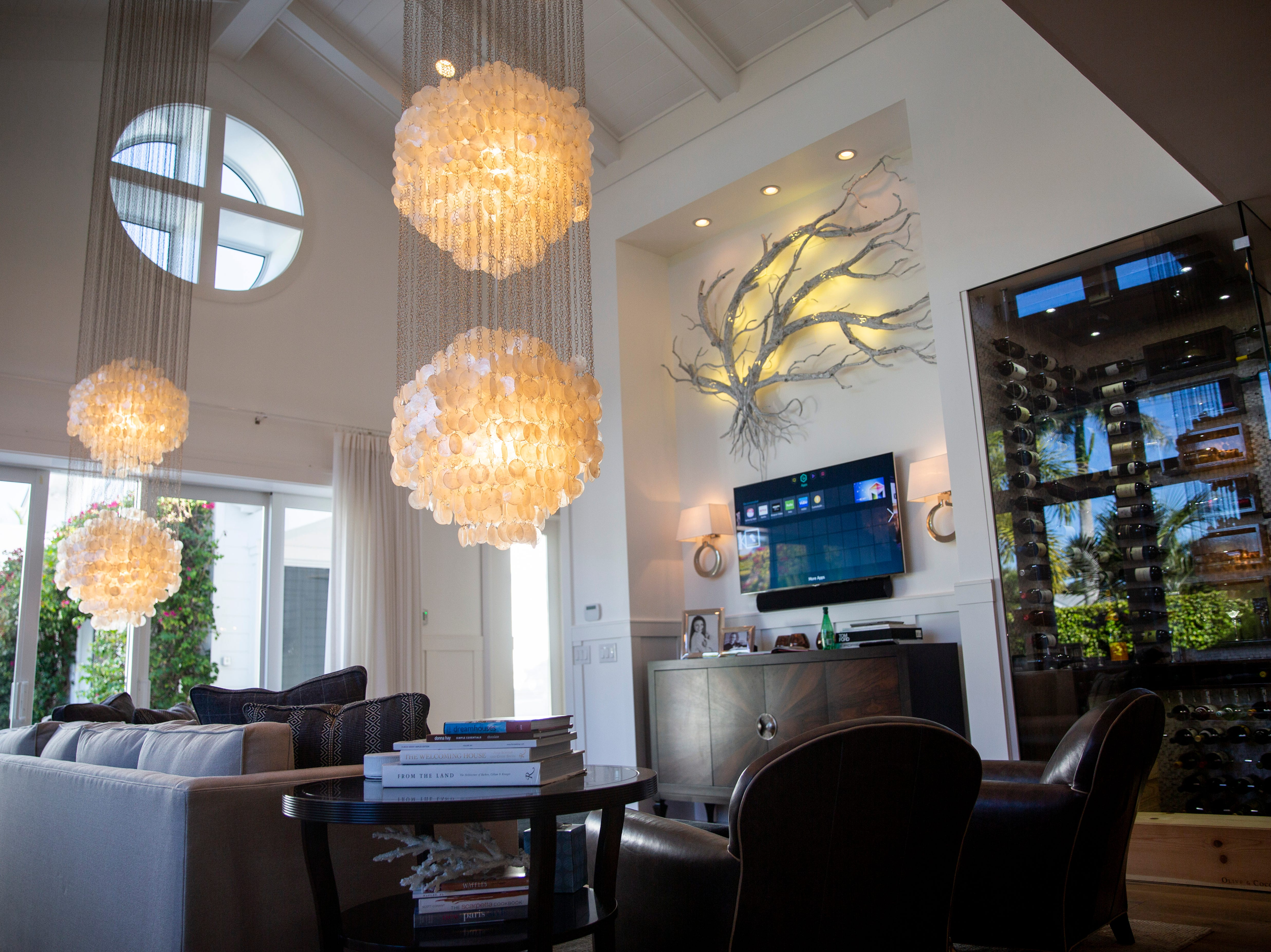 A home on Broad Ave, designed by Broad Avenue Studios, is open to guests during the 7th annual Kitchen Tour, hosted by the Naples Woman's Club in Naples on Wednesday, January 16, 2019.