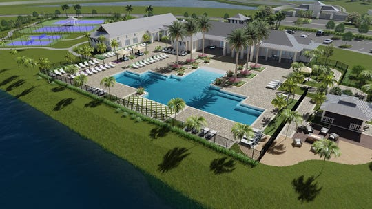 Azure at Hacienda Lakes will celebrate the grand opening of its  clubhouse on Saturday, Jan. 26.