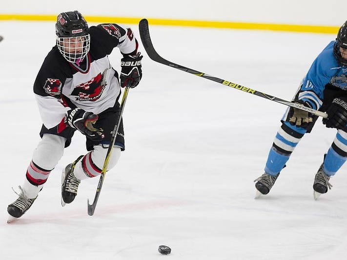 Sean Vlasich recently scored his 100th career point for Northern Highlands.