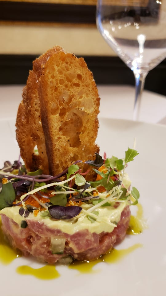 Tuna tartare is one of the appetizer course choices at the upcoming Dinner with Esther at Technique - Westwood