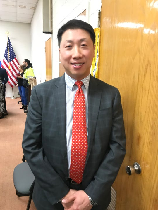 Andy Min was appointed to the Palisades Park council on Jan. 16.
