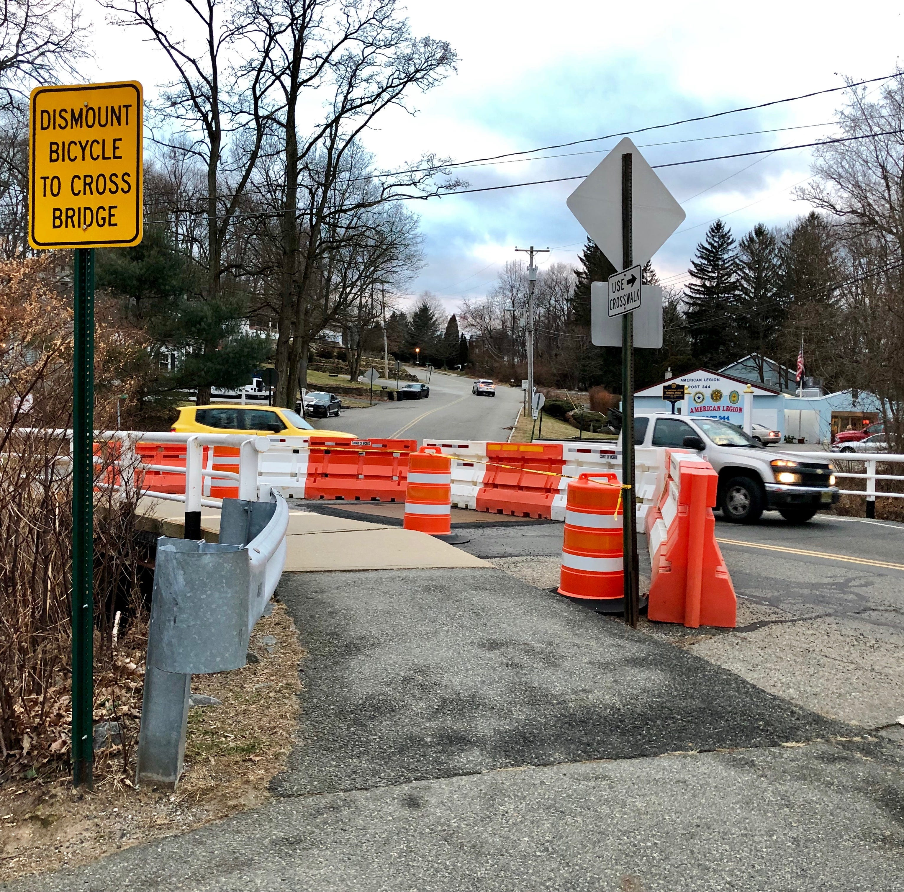 Rockaway Twp. road closed over deteriorated bridge beams