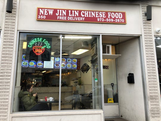 New Jin Lin Chinese restaurant on Bloomfield Avenue in Montclair.