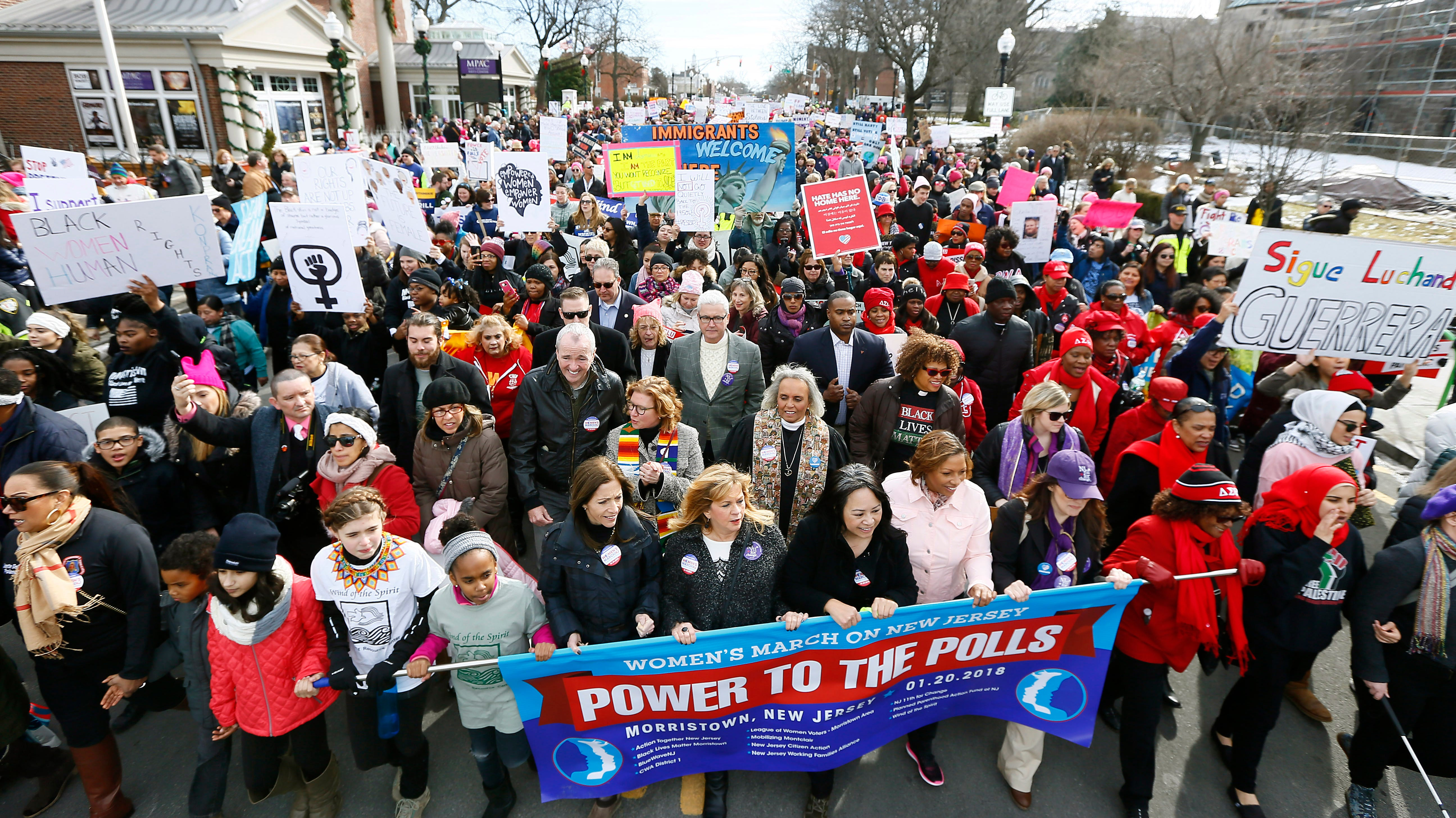 Anti-Semitism controversy engulfing national Women's March sows divisions in New Jersey