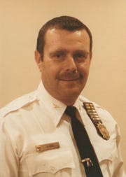 On May 7, 1963 Paterson Patrolman, Robert Mohl was on the scene of the shooting.  (photo circa 1983)