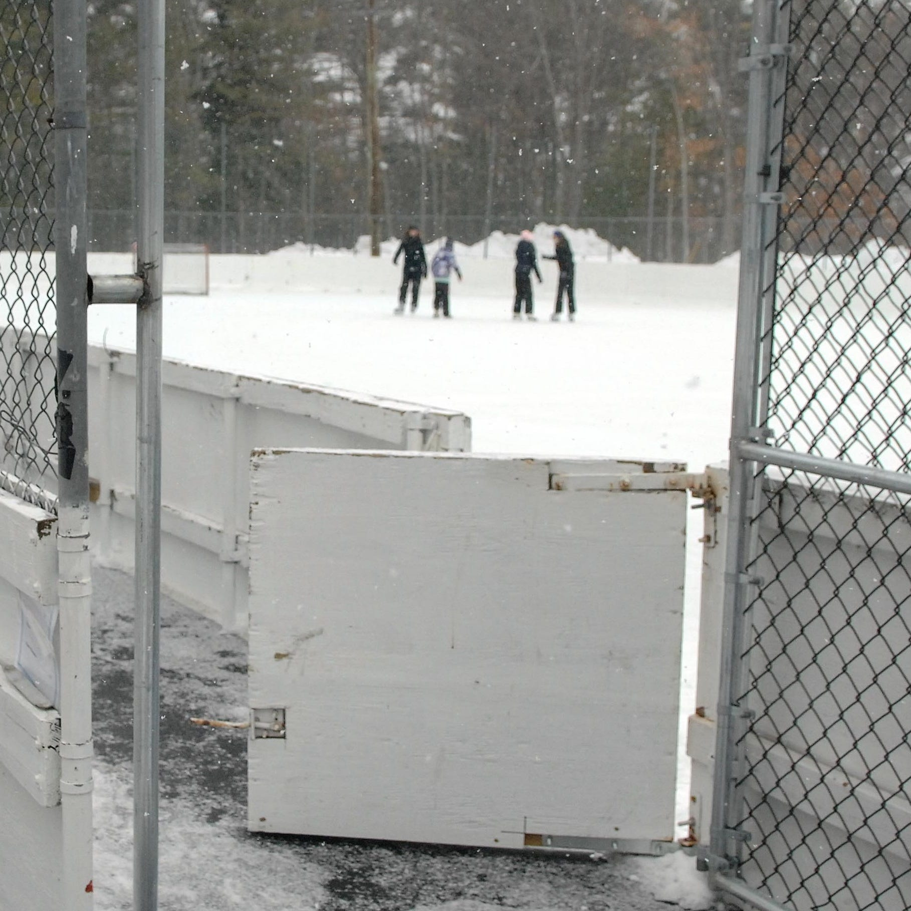 Ringwood ice rink wrecked by trespassers will be closed for season