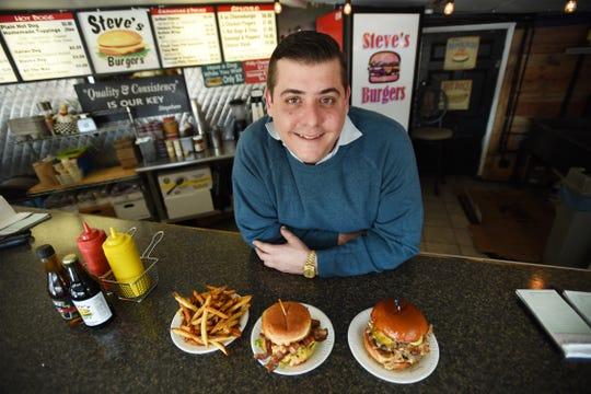 Photo of Stephen Chrisomalis, owner of Steve's Burgers in Garfield on 01/15/19.