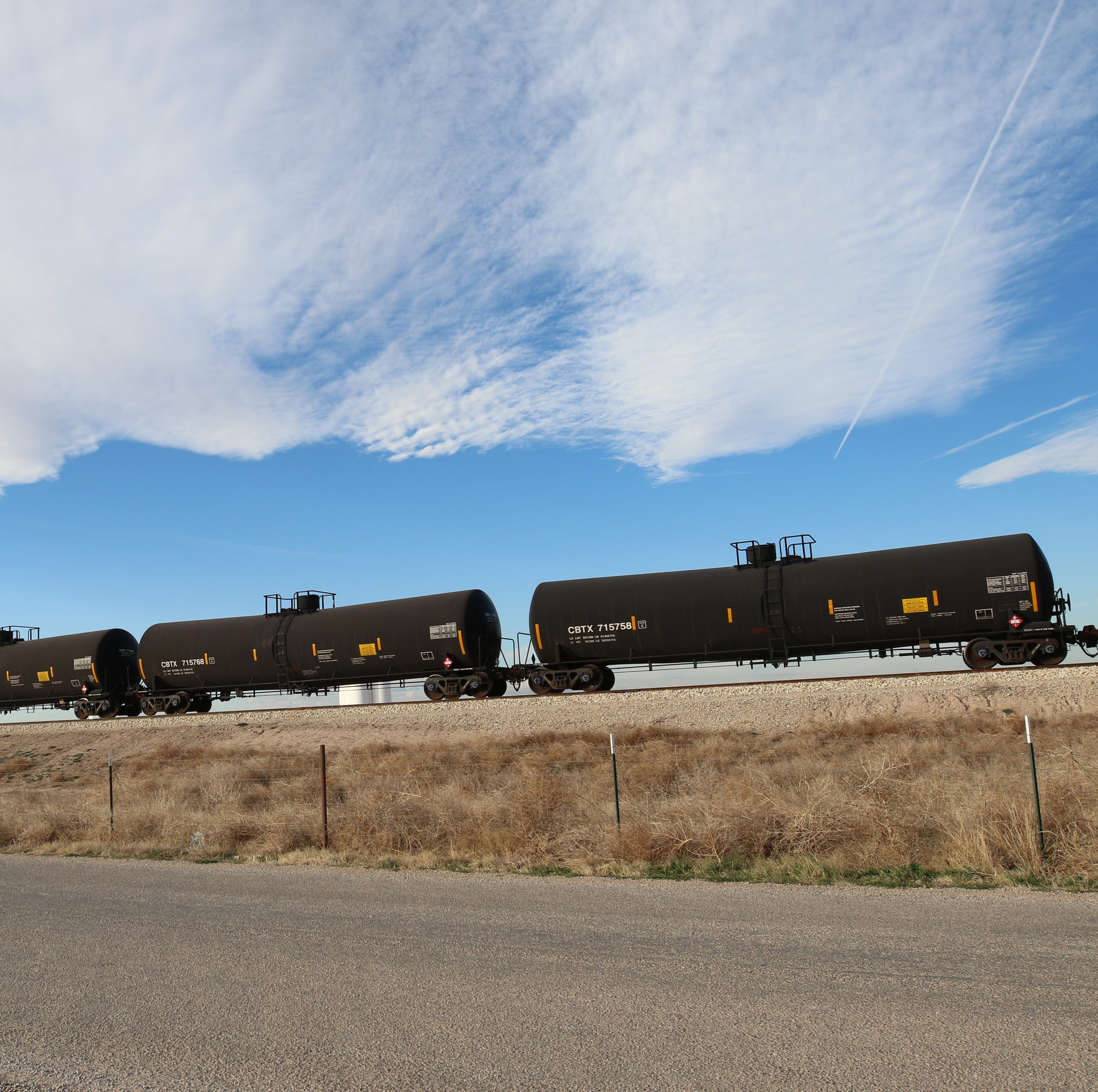 Railroad industry surges during oil boom in southeast New Mexico