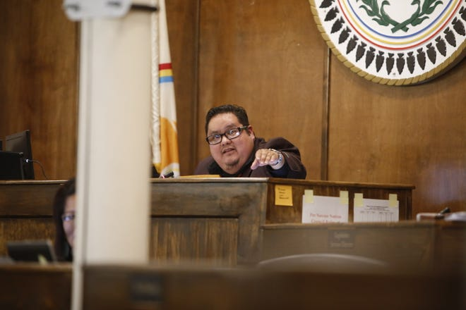 Delegate Seth Damon was selected pro tem speaker for the 24th Navajo Nation Council during a special session on Tuesday in Window Rock, Ariz. Damon will serve in that capacity until a speaker is selected during the winter session later this month.