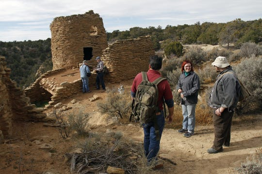 Tourists hoping to visit archaeological sites in San Juan County can tour Dinetah defensive sites like Francis Canyon or visit Salmon Ruins while Aztec Ruins National Monument and Chaco Culture National Historical Park are closed.