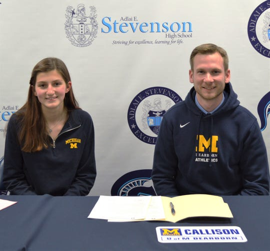 Livonia Stevenson senior Kylie Callison has signed an NAIA letter of intent to run at the University of Michigan-Dearborn.