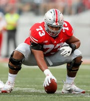 Ohio State's Michael Jordan was switched from guard to center for the 2018 season.