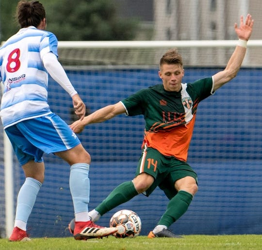 The Michigan Bucks' Brad Dunwell, who started 91 games at Wake Forest, was taken in the third round of the MLS SuperDraft by the Houston Dynamo.