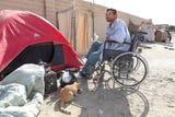 Individuals experiencing homelessness in the Coachella Valley describe the struggles of living on the streets.