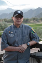 Zoltan Hernady is the chef at the PGA West private clubhouse, La Quinta, Calif., January 15, 2019.