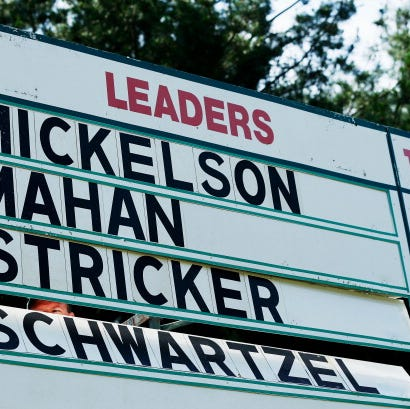 What's in a PGA Tour player's name? Well, here's a story using 91 of them