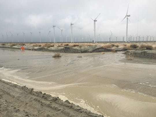 Indian Canyon Drive. which had been closed for a week, reopened Thursday afternoon between Interstate 10 and Tramview Road in Palm Springs.