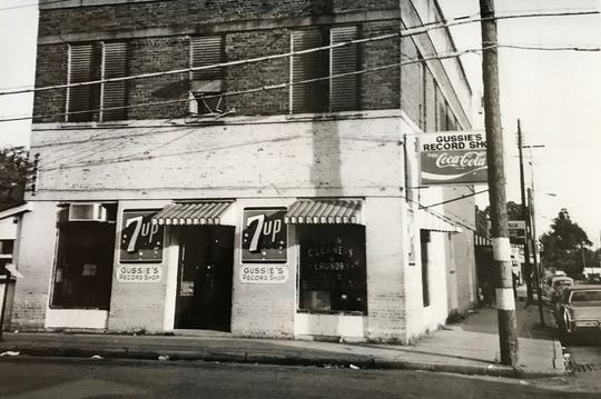Gussie's Record Shop was at the nucleus of Pensacola's historic Belmont-DeVilliers neighborhood where Five Sisters Blues Cafe sits today.