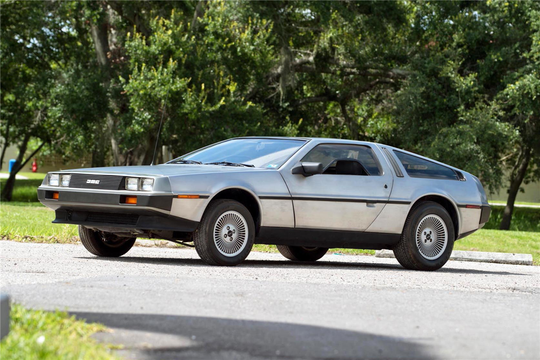 This 1981 Delorean DMC-12 will be auctioned off at Barrett-Jackson in Scottsdale on Thursday.