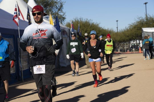 Endurance runners come to Glendale, AZ, annually for Across the Years, a 6-day ultramarathon at Camelback Ranch.