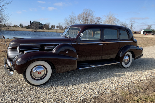 This 1939 Cadillac Series 75 Sedan will be auctioned off at Barrett-Jackson in Scottsdale on Thursday.