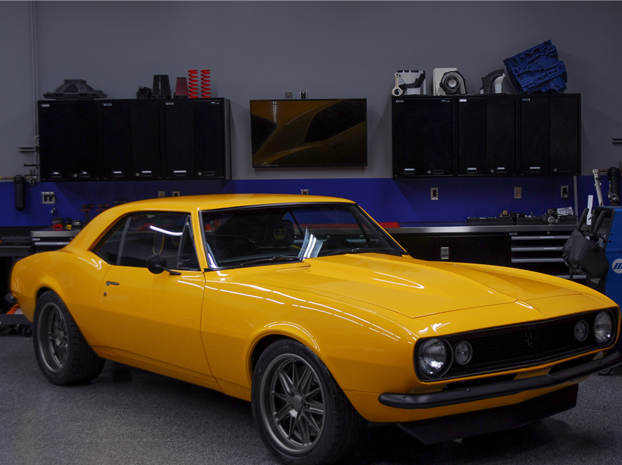 This 1967 Chevrolet Camaro Custom Coupe will be auctioned off at Barrett-Jackson in Scottsdale on Thursday.