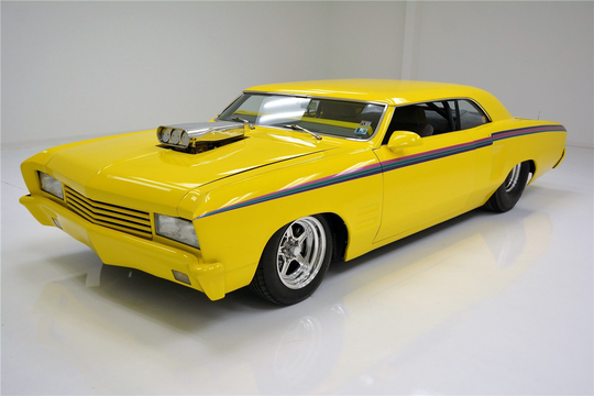 This 1967 Chevrolet Chevelle Custom Coupe will be auctioned off at Barrett-Jackson in Scottsdale on Thursday.