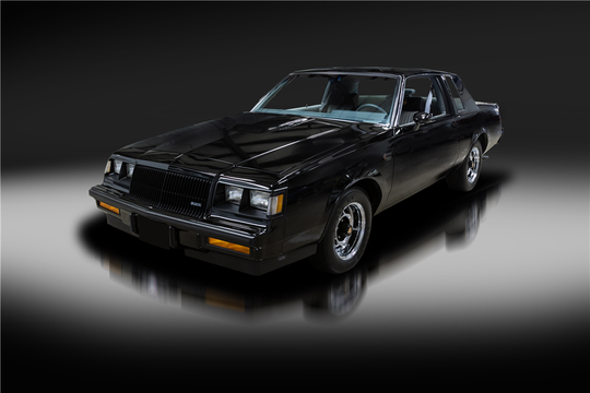 This 1987 Buick Grand National will be auctioned off at Barrett-Jackson in Scottsdale on Thursday.