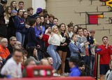 Pinnacle High School boys basketball student section is called the 'Crazies' @PHSCrazies