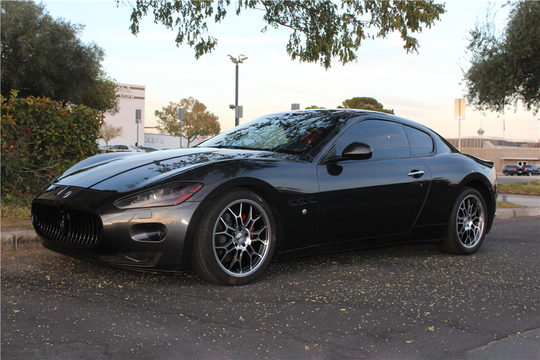 This 2008 Maserati Granturismo will be auctioned off at Barrett-Jackson in Scottsdale on Thursday.