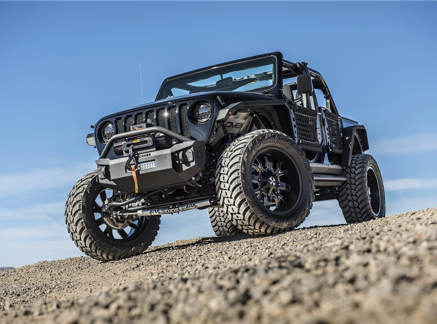 This 2019 Jeep Wrangler Unlimited Custom SUV  will be auctioned off at Barrett-Jackson in Scottsdale on Thursday.
