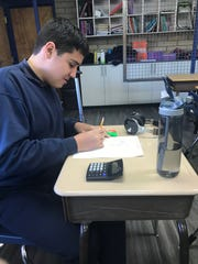 Lisa Montez Stockstad enrolled her son Luke, 15, into St. Mary Basha in order for him to be in a classroom with other students. The Arizona Catholic Schools Disabilities Fund supports 28 elementary schools in accommodating students with disabilities.