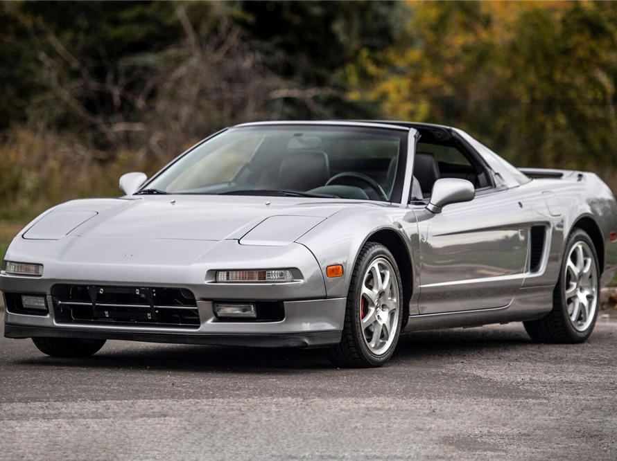 This 2001 Acura NSX-T VIN 00001 will be auctioned off at Barrett-Jackson in Scottsdale on Thursday.