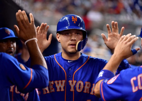 Wilmer Flores hit .267 with 11 home runs last season with the New York Mets.