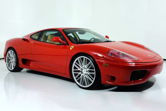 This 1999 Ferrari 360 Modena F1 will be auctioned off at Barrett-Jackson in Scottsdale on Thursday.