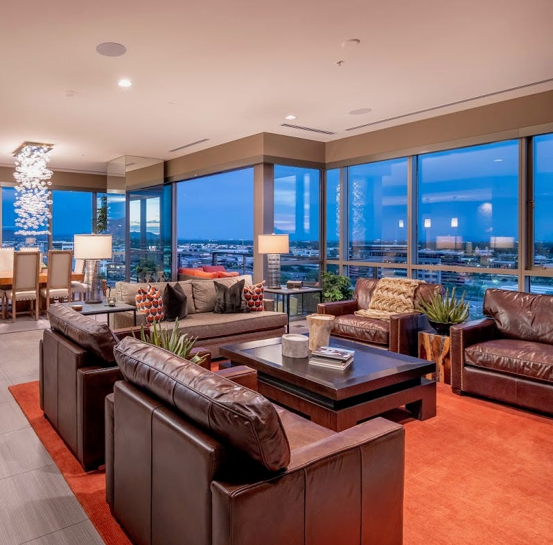 Fitness club founder sells Scottsdale penthouse for $3.33M