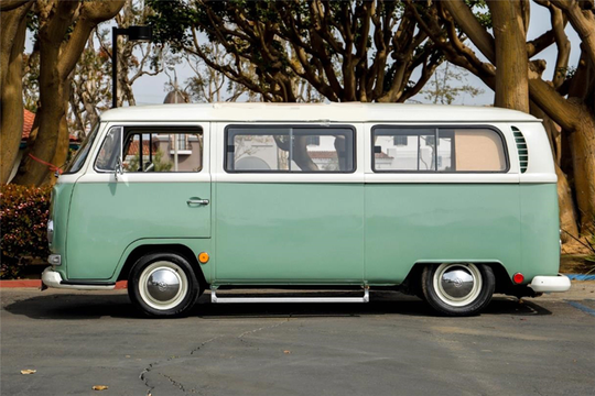 This 1968 Volkswagen Bus will be auctioned off at Barrett-Jackson in Scottsdale on Thursday.