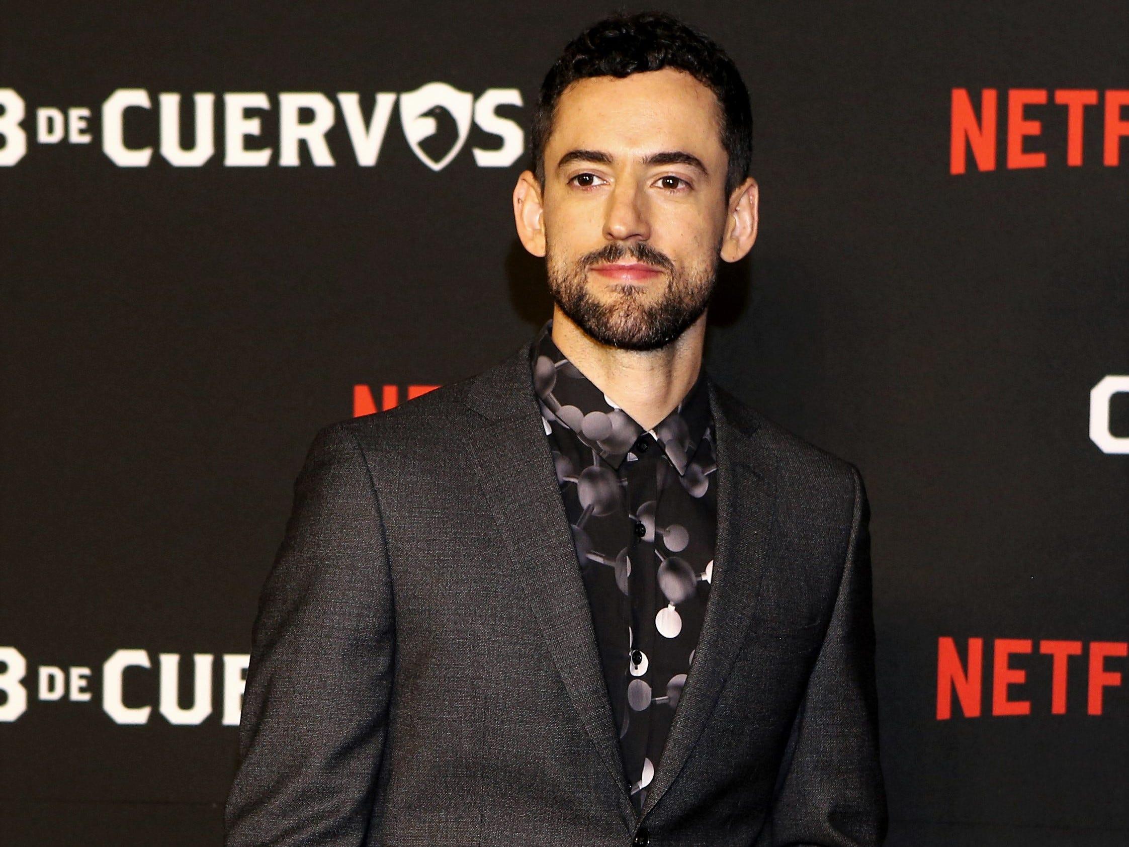 Luis Gerardo Méndez se despide de 'Club de Cuervos'