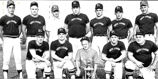 The 1969 South Lebanon Fast-Pitch softball team went undefeated in the City-County League, posting a record of 25-0 in the regular season and 5-0 in the playoffs.