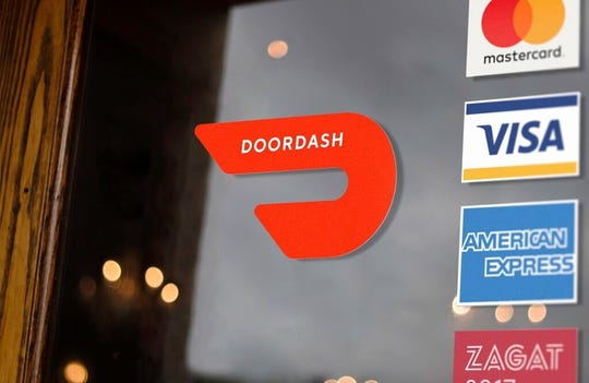 DoorDash is a food delivery service that brings the takeout window to your front door.